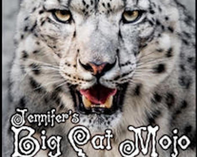 Jennifer's Big Cat Mojo - Private Edition - Handcrafted Perfume - Love Potion Magickal Perfumerie