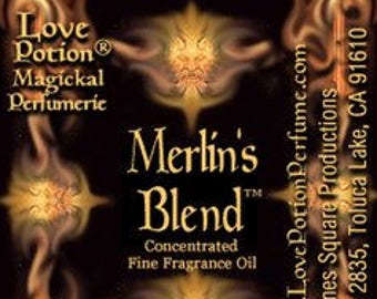 Merlin's Blend - Handcrafted Fragrance for Men - Love Potion Magickal Perfumerie