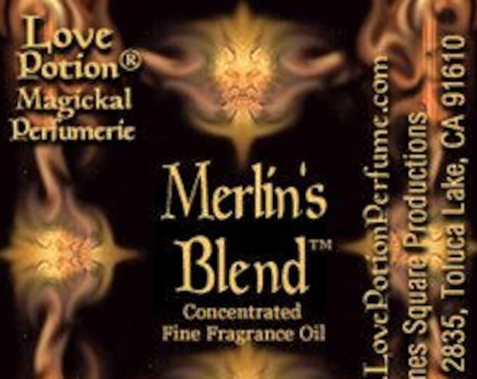 Merlin's Blend - Phero Enhanced w/ Perfect Match! SPECIAL! - Love Potion Magickal Perfumerie