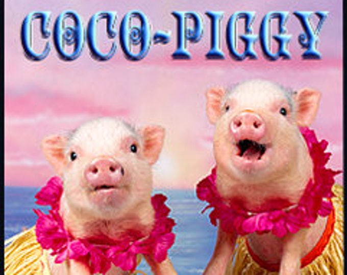 Tyvey's Coco Piggy - Private Edition - Handcrafted Perfume - Love Potion Magickal Perfumerie