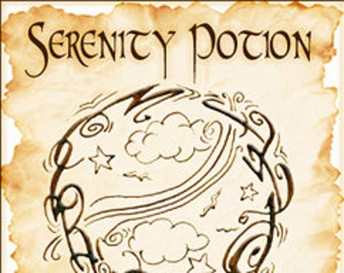 Sigil Collection 2015: Serenity Potion - Perfume Potion - Love Potion Magickal Perfumerie