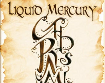 Sigil Collection 2015: Liquid Mercury - Perfume Potion - Love Potion Magickal Perfumerie - Mercury Retrograde