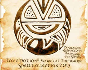 Sigil Collection 2015: Money Multiplier w/ Swimming with Sharks - Unisex - Love Potion Magickal Perfumerie - Pheromone Enhanced