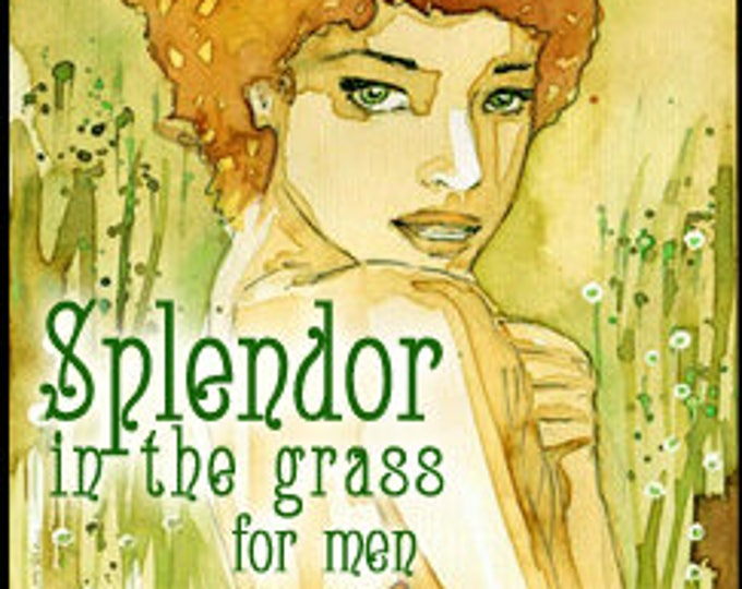 Splendor in the Grass for Men / Unisex - Handcrafted Fragrance - Summer 2016 - Love Potion Magickal Perfumerie