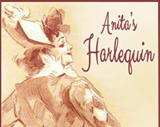 Anita's Harlequin - Concentrated Perfume Oil - Love Potion Magickal Perfumerie - Private Edition