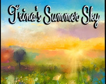 Trina's Summer Skies - Concentrated Perfume Oil - Love Potion Magickal Perfumerie - Private Edition