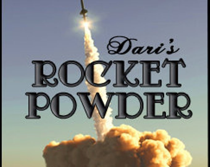 Dari's Rocket Powder - Private Edition - Concentrated Perfume Oil - Love Potion Magickal Perfumerie