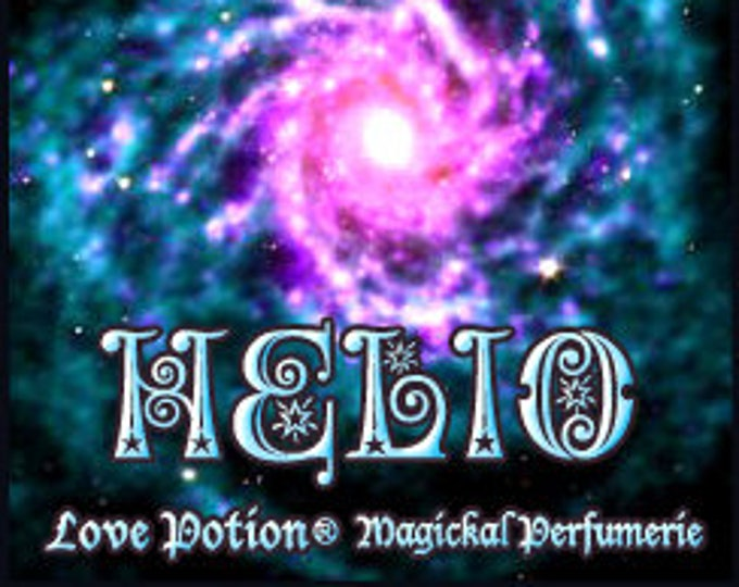 Angie's Helio - Private Edition - Concentrated Perfume Oil - Love Potion Magickal Perfumerie