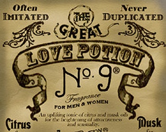 Love Potion #9 - for Men and Women - Handcrafted Perfume - Love Potion Magickal Perfumerie