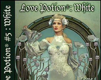 Love Potion: White - Handcrafted Original Perfume for Women - Love Potion Magickal Perfumerie