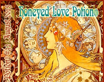Honeyed Love Potion w/ Gotcha! - Limited Edition Variant - Pheromone Enhanced Perfume for Women - Love Potion Magickal Perfumerie
