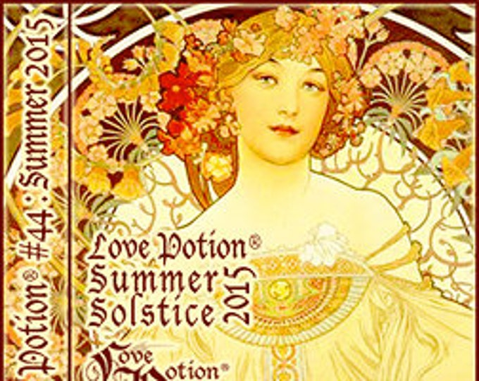 Love Potion: Summer Solstice 2015 ~Tropical Pineapple - Limited Edition - Handcrafted Perfume for Women - Love Potion Magickal Perfumerie
