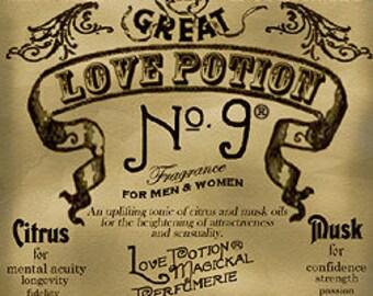 Love Potion #9 - Unisex Fragrance - Handcrafted Perfume - Love Potion Magickal Perfumerie