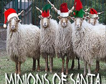 THREEBIES! Lot #618 - Minions of Santa, Merry, Bad Elf - Love Potion Magickal Perfumerie