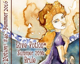 Love Potion: Summer 2016 ~ Banana Brule - Limited Edition Variant - Handcrafted Perfume for Women - Love Potion Magickal Perfumerie