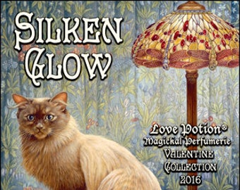 Ivory Cats: Silken Glow - for Women - Handcrafted Fragrance - Love Potion Magickal Perfumerie