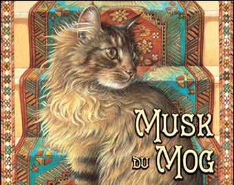 Ivory Cats: Musk du Mog - for Women - Handcrafted Fragrance - Love Potion Magickal Perfumerie