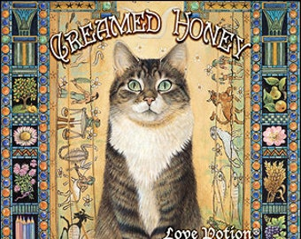 Ivory Cats: Creamed Honey - for Women - Handcrafted Fragrance - Love Potion Magickal Perfumerie