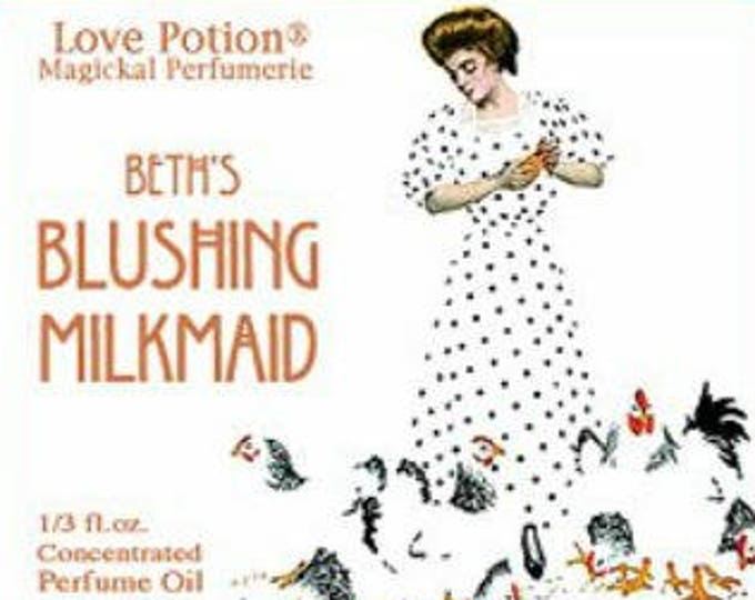 Beth's Blushing Milkmaid w/ EoW Copulins - for Women - Pheromone Enhanced Perfume - Love Potion Magickal Perfumerie