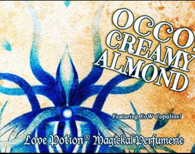 OCCO 2019: Creamy Almond w/Copulins - LIMITED EDITION! - Pheromone Enhanced Perfume for Women - Love Potion Magickal Perfumerie