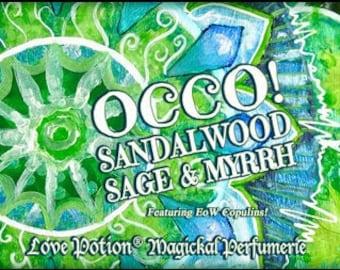 OCCO 2019: Sandalwood, Sage & Myrrh w/Copulins - LIMITED EDITION! - Pheromone Enhanced Unisex Blend! - Love Potion Magickal Perfumerie
