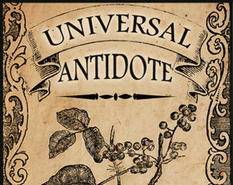 Universal Antidote - Halloween Collection 2016 - for Women - Limited Edition Original Fragrance - Love Potion Magickal Perfumerie