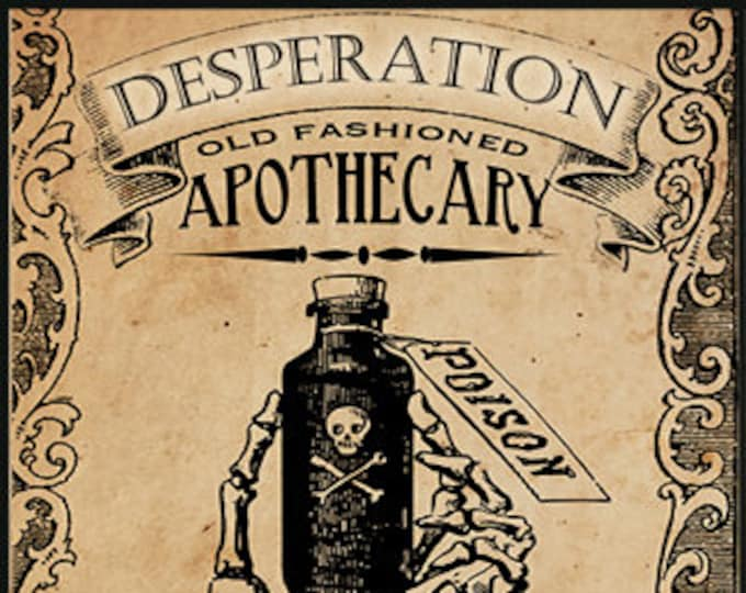 Desperation & Djinn - Halloween Collection 2016 - for Women - Limited Edition Original Fragrance - Love Potion Magickal Perfumerie