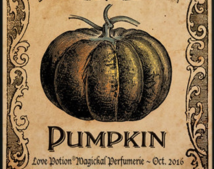 Love Potion: Pumpkin w/ Aja - Halloween Collection 2016 - for Women - Love Potion Magickal Perfumerie