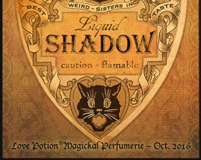 Liquid Shadow - Halloween Collection 2016 - for Men and Women - Limited Edition Original Fragrance - Love Potion Magickal Perfumerie