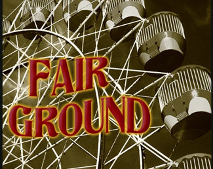 Fair Ground - Carnival Collection Sept. 2016 - Unisex Handcrafted Fragrance - Limited Edition - Love Potion Magickal Perfumerie