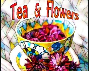 Tea & Flowers w/ Mega Watt - Pheromone Enhanced Perfume for Women - Love Potion Magickal Perfumerie - Pherotine 2017