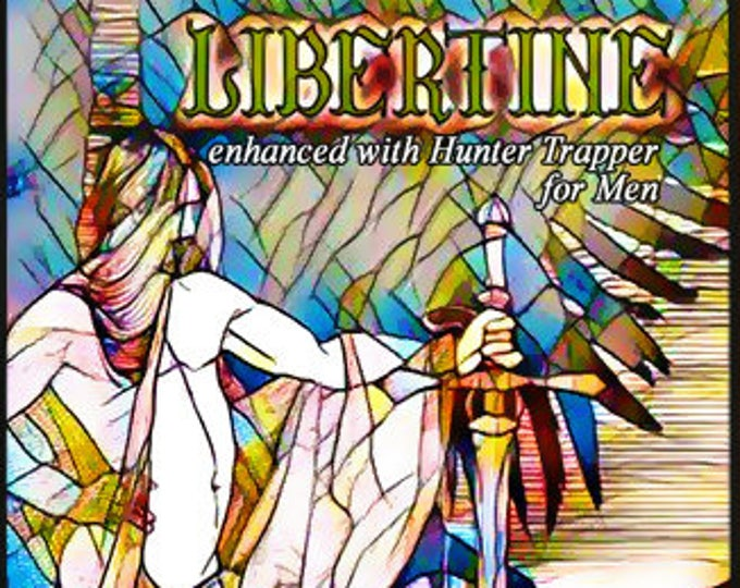 Libertine w/ Hunter Trapper - For Men - Pheromone Enhanced Fragrance - Love Potion Magickal Perfumerie - Pherotine 2017