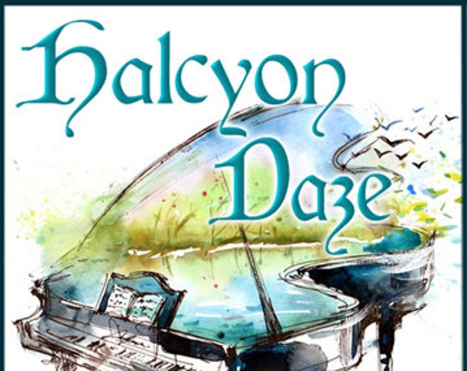 Halcyon Daze - Summer 2017 Collection - Handcrafted Perfume for Women - Love Potion Magickal Perfumerie
