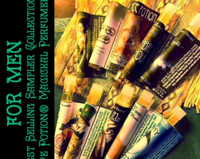 Best Selling Sampler Set for Men - Newbie Special! - Love Potion Magickal Perfumerie