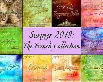 Summer 2019: THE FRENCH COLLECTION - Sets and Specials - Love Potion Magickal Perfumerie