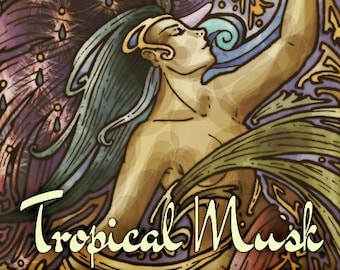 Tropical Musk - Vault Collection 2019 - Limited Edition Fragrance for Women - Love Potion Magickal Perfumerie