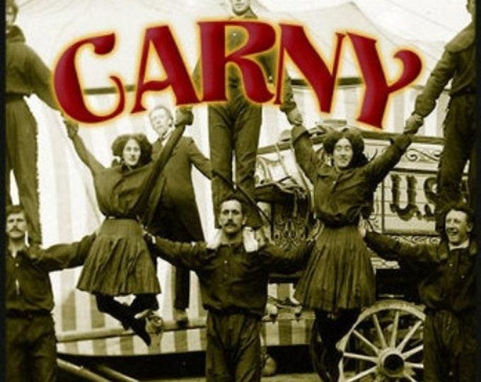 UNISEX THREEBIES! Lot #734 - Carny, Goldfish w Alpha-Nol, Time Travel: 1942 - Leather Variant