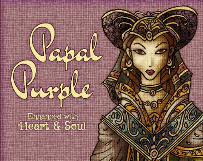Papal Purple w/ Heart & Soul - Vault Collection 2019 - Limited Edition Fragrance for Women - Love Potion Magickal Perfumerie