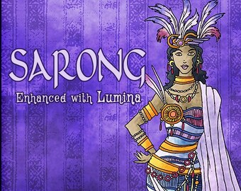 Sarong w/ Lumina - Pheromone Enhanced Fragrance for Women - Love Potion Magickal Perfumerie - Pherotine 2019