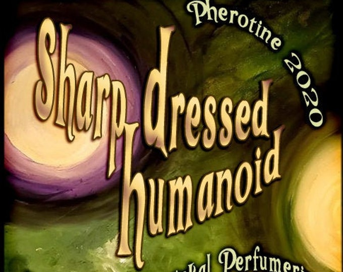 Sharp-Dressed Humanoid w/ Swimming with Sharks ~ Pherotine 2020 ~ Phero Enhanced Fragrance for Everyone - Love Potion Magickal Perfumerie
