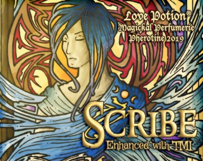Scribe w/ TMI - Pheromone Enhanced Unisex Fragrance - Love Potion Magickal Perfumerie - Pherotine 2019