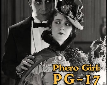 Phero Girl: PG-17 - Halloween 2017 Collection - Pheromone Enhanced Perfume for Women - Love Potion Magickal Perfumerie