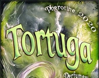 Tortuga w/ True Confessions ~ Pherotine 2020 ~ Phero Enhanced Fragrance for Everyone - Love Potion Magickal Perfumerie