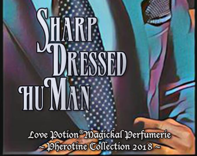 Sharp Dressed huMan w/ Swimming with Sharks - Pheromone Enhanced Fragrance for Men and Women - Love Potion Perfumes - Pherotine 2018