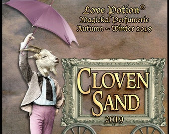 Cloven Sand 2019 - Halloween 2019 Collection - Unisex Fragrance - Love Potion Magickal Perfumerie
