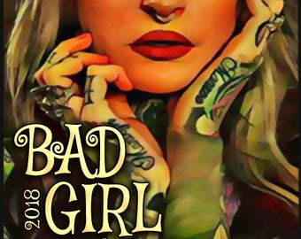 Bad Girl 2018 w/ Leather - Pheromone Enhanced Perfume for Women - Love Potion Magickal Perfumerie - Pherotine 2018