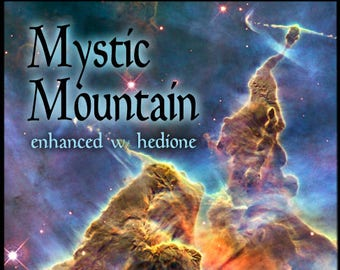 Mystic Mountain w/ Hedione - Nebula Collection Apr. 2016 - for Women - Pheromone Enhanced Fragrance - Love Potion Magickal Perfumerie