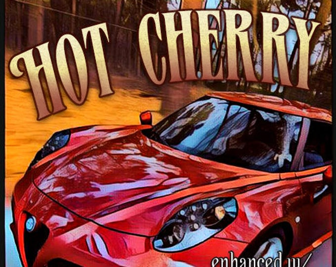 Hot Cherry w/ Heart Throb - Pheromone Enhanced Fragrance for Men - Love Potion Magickal Perfumerie - Pherotine 2018