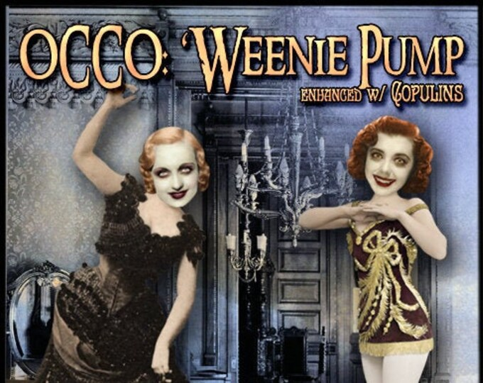 OCCO: 'Weenie Pump w/Copulins -  Halloween 2019 Collection - Pheromone Enhanced Perfume - Love Potion Magickal Perfumerie
