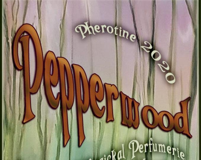 Pepperwood w/ Wanted Man ~ Pherotine 2020 ~ Phero Enhanced Fragrance for Men - Love Potion Magickal Perfumerie